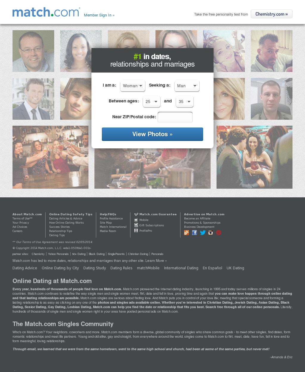 match.com dating advice
