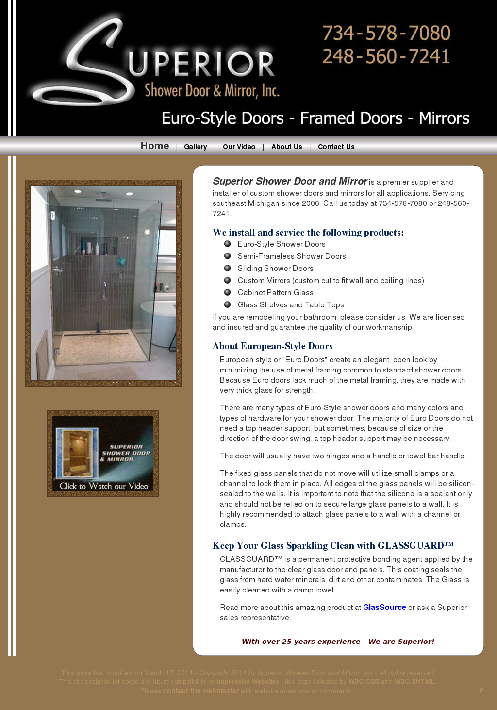 Superior Shower Door And Mirror Competitors Revenue And Employees