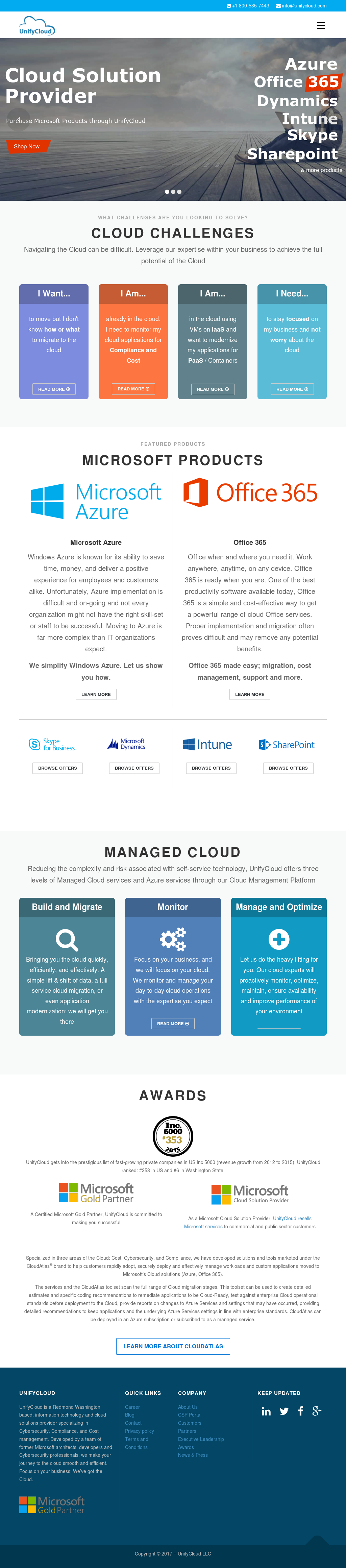 UnifyCloud Competitors, Revenue and Employees - Owler
