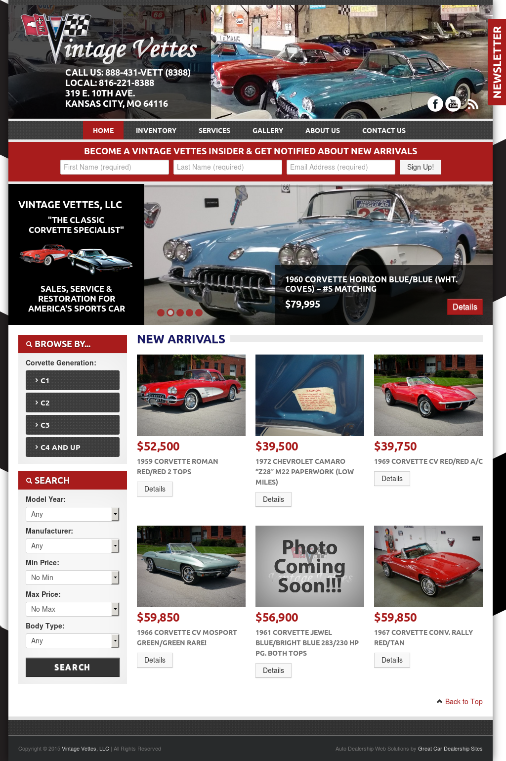 Vintage Vettes Competitors, Revenue and Employees - Owler