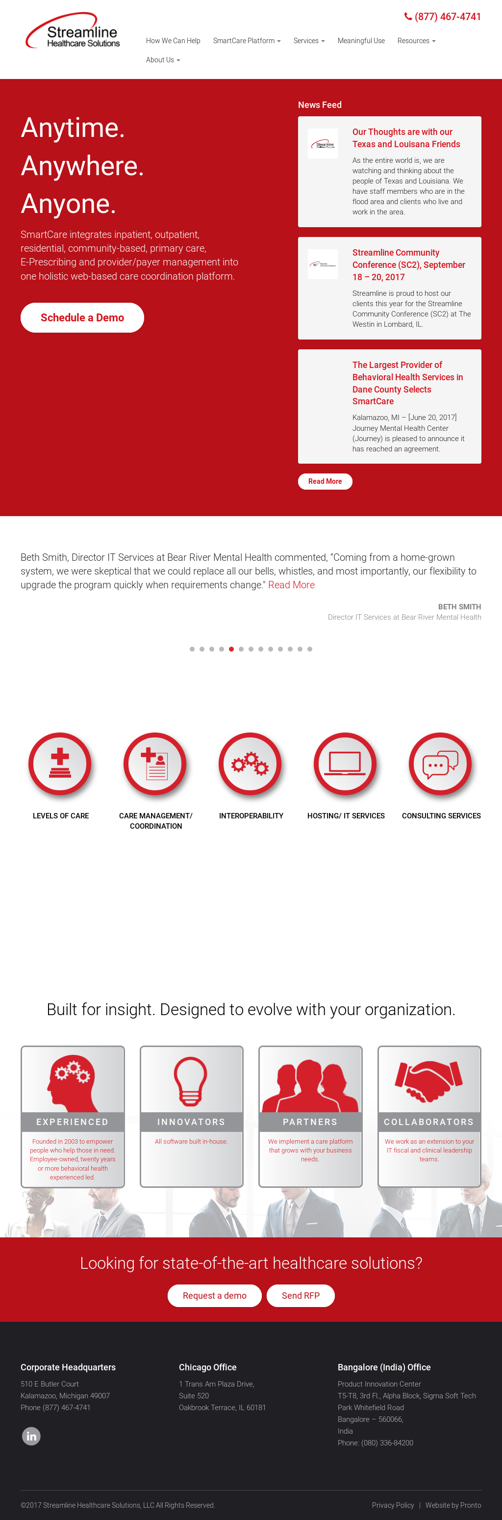 Streamline Healthcare Solutions Competitors Revenue And Employees
