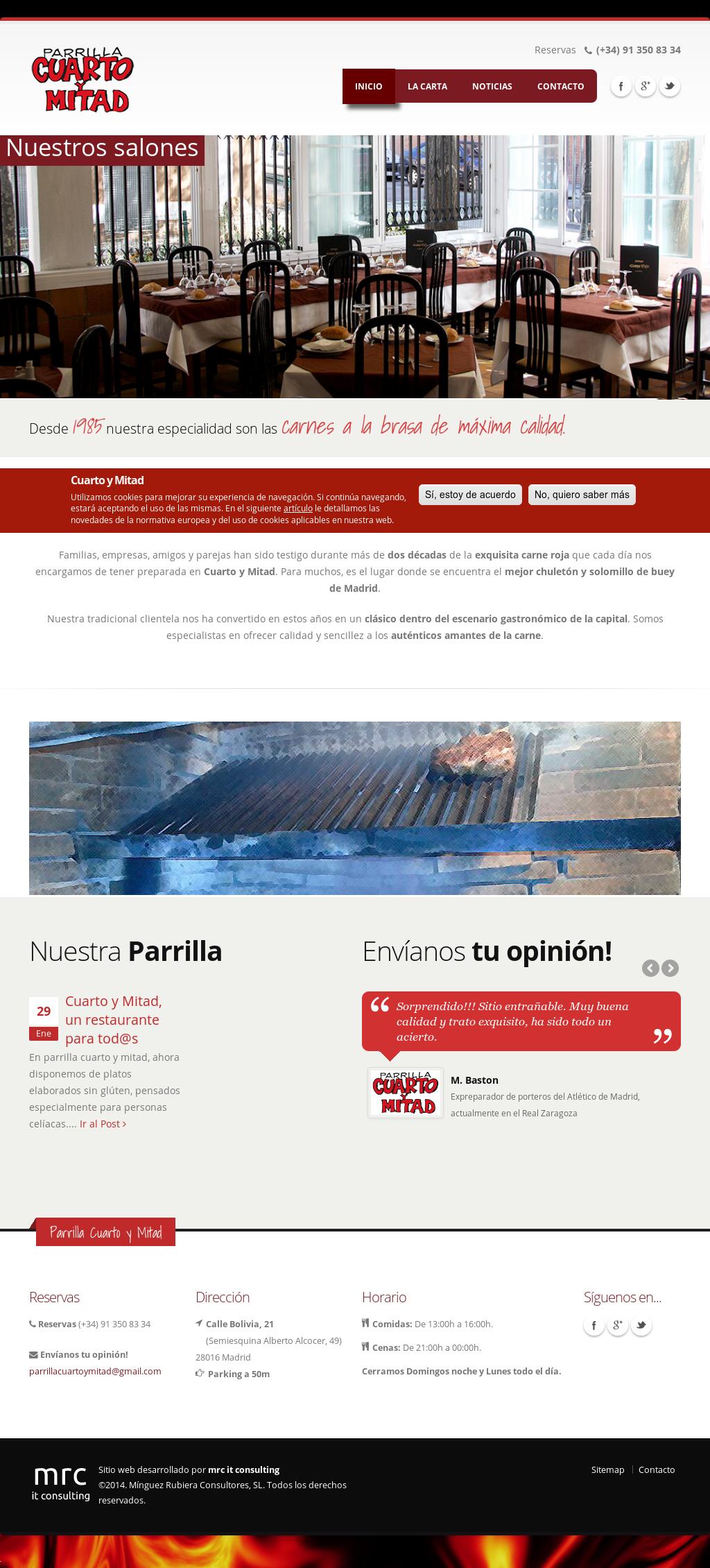 Parrilla Cuarto Y Mitad Competitors, Revenue and Employees ...