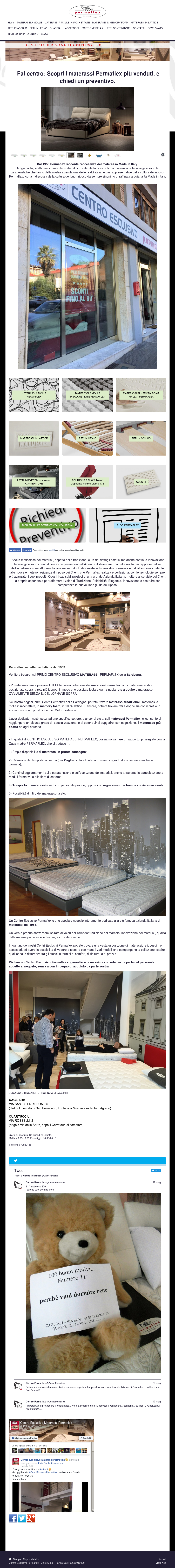 Permaflex Materassi.Centro Esclusivo Materassi Permaflex Competitors Revenue And