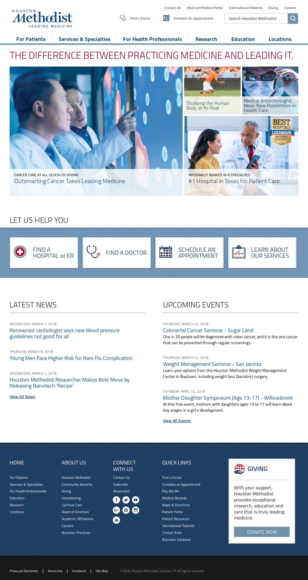 Houston Methodist Competitors, Revenue and Employees - Owler