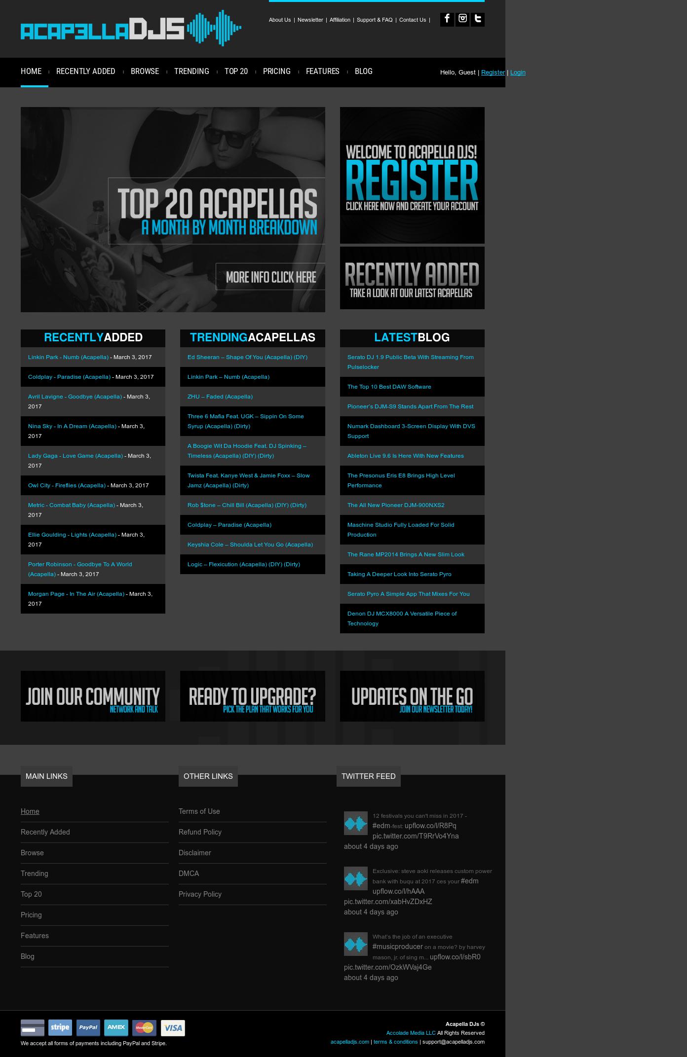 Acapella Djs Competitors, Revenue and Employees - Owler