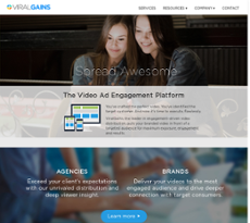 ViralGains website history