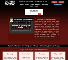 Delivery Wow website history