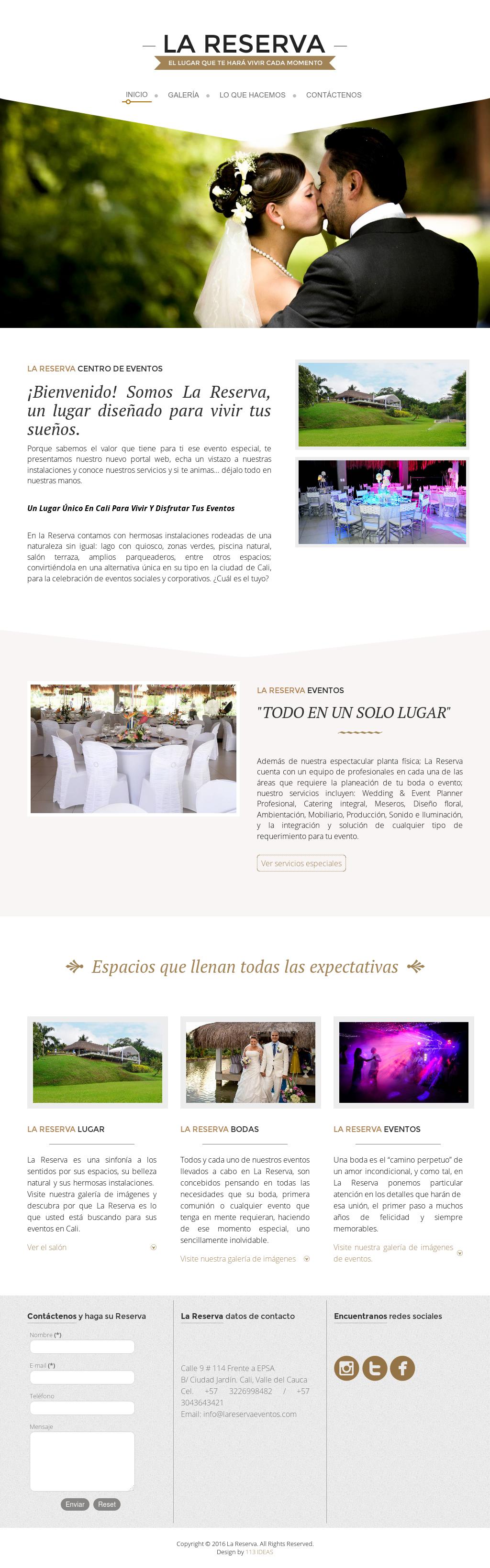 La Reserva Centro De Eventos Competitors Revenue And