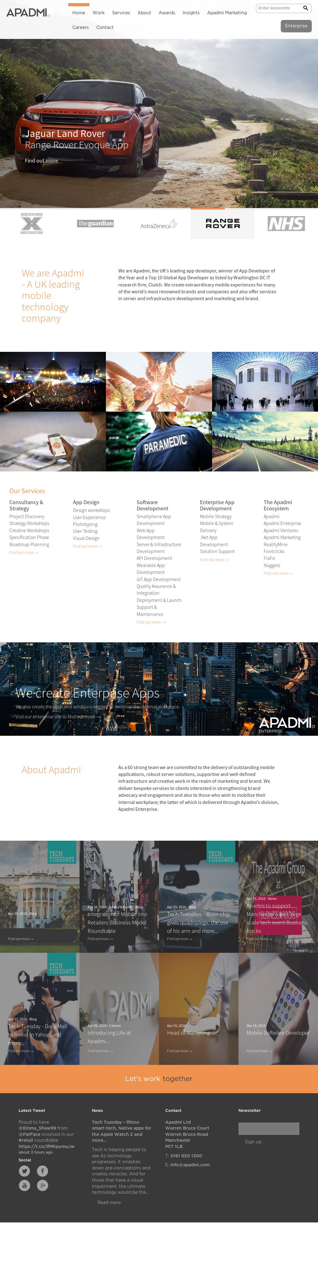 Apadmi Competitors, Revenue and Employees - Owler Company