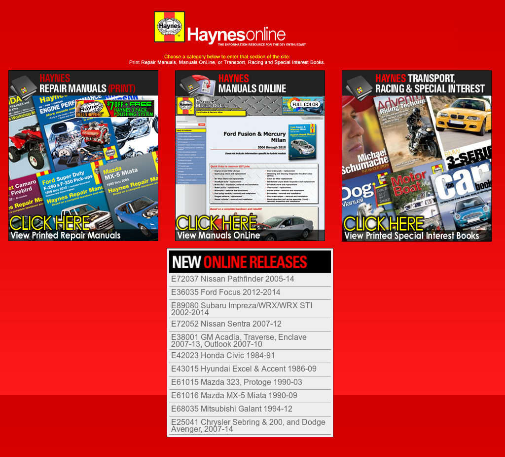 Haynes Manuals Competitors, Revenue and Employees - Owler Company Profile