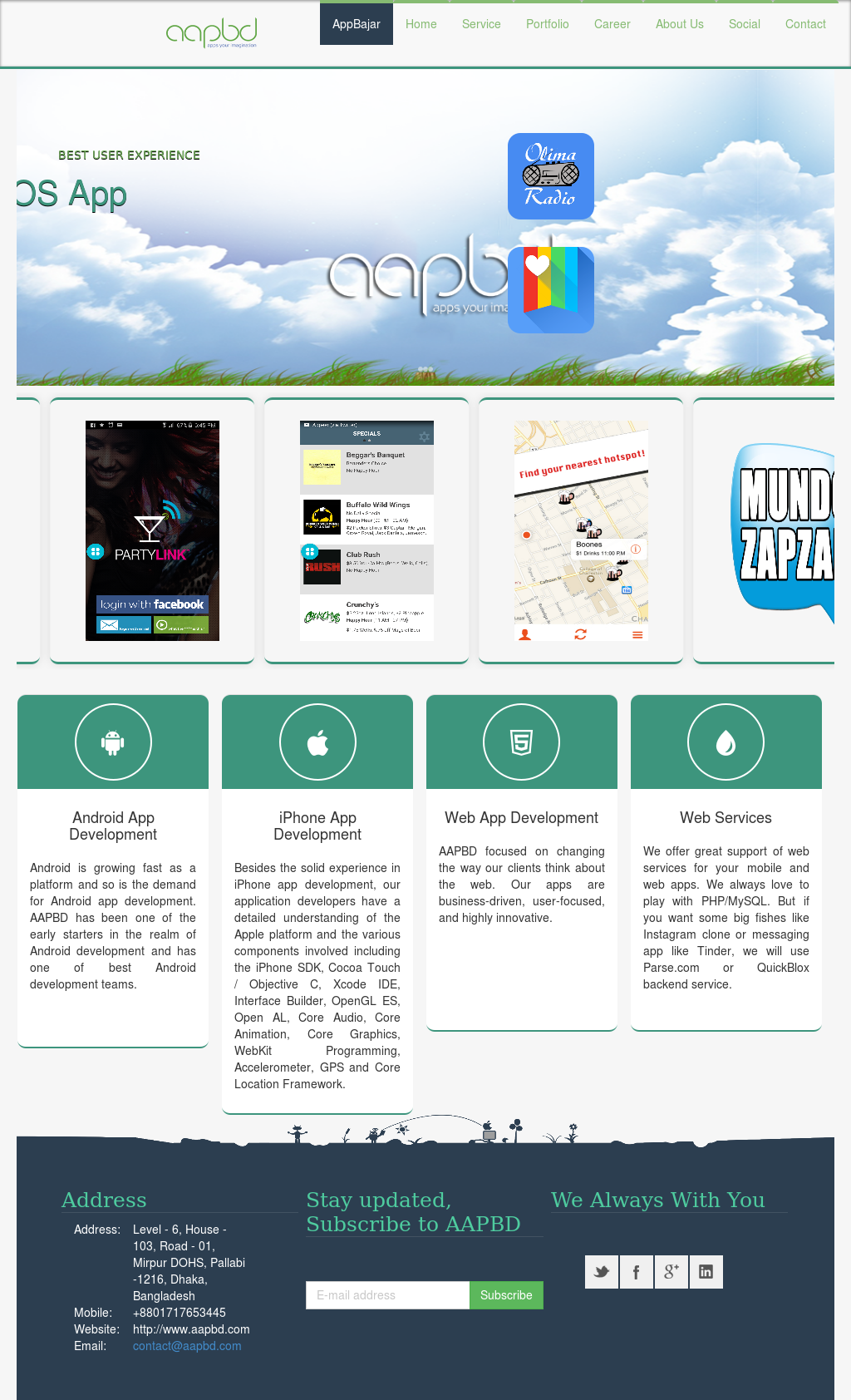 Advanced Apps Bangladesh Ltd - Aapbd Competitors, Revenue