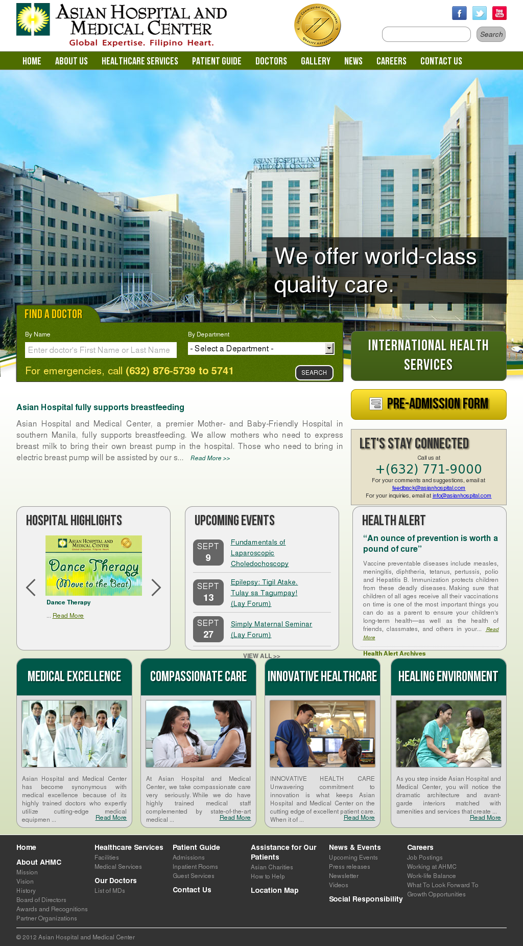 Asian Hospital Competitors, Revenue and Employees - Owler Company Profile