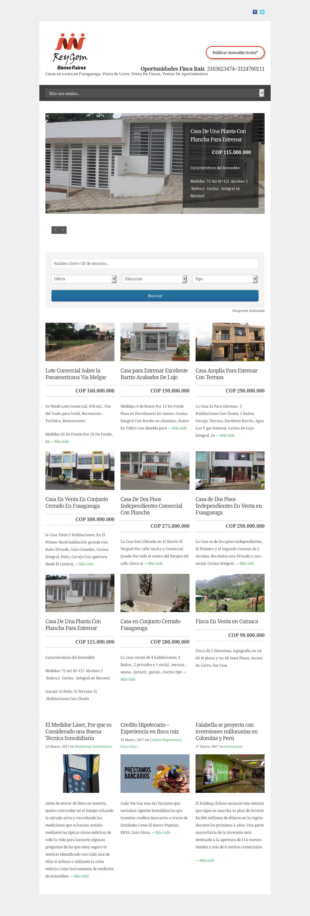 Portal Inmobiliario De Colombia Reygom S A S Competitors