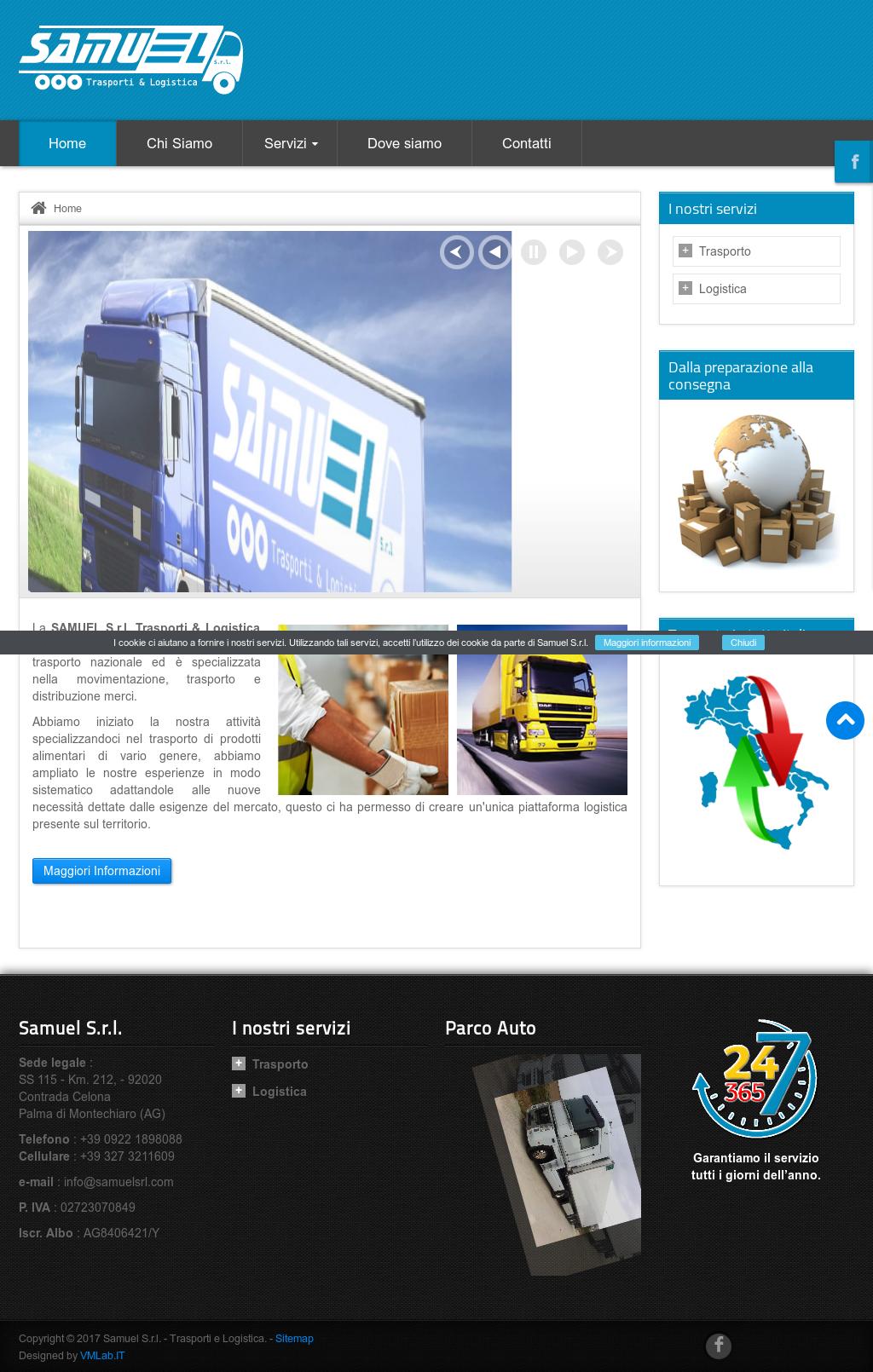samuel trasporti e logistica competitors, revenue and employees