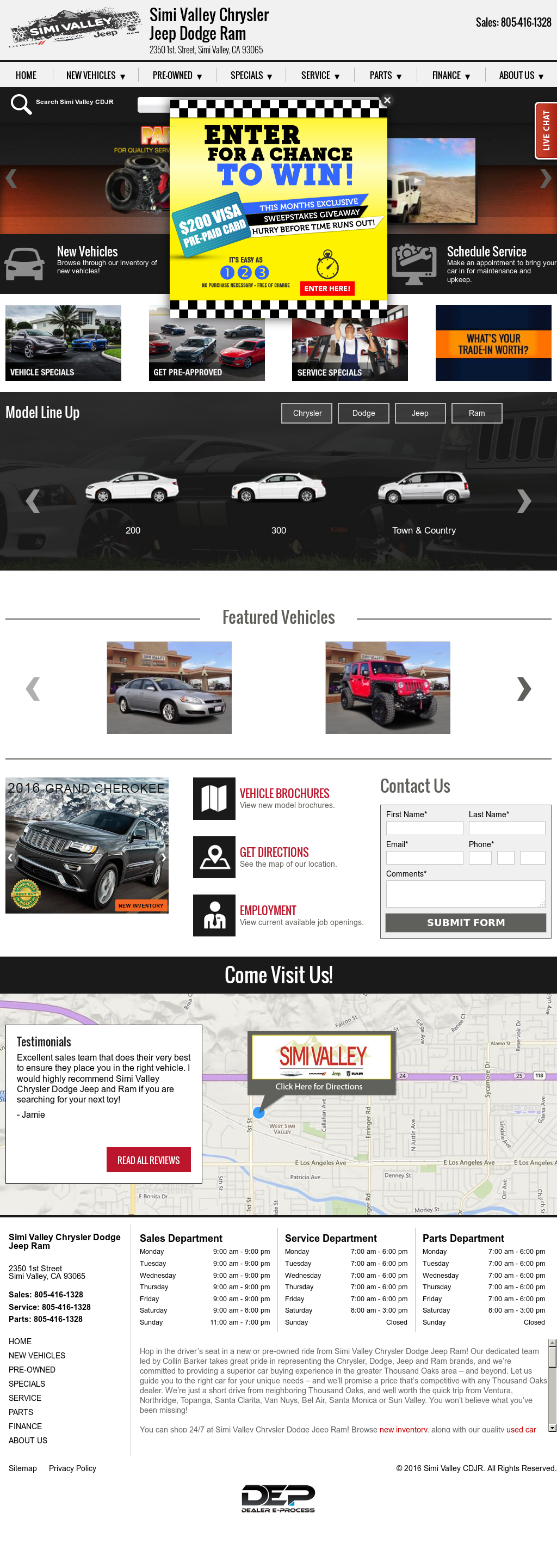 Simi Valley Jeep >> Simi Valley Chrysler Dodge Jeep Ram Competitors Revenue And