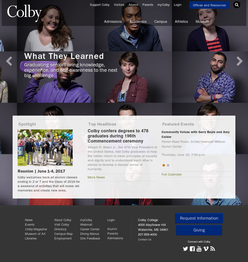 Colby College Campus Map Lake Vermilion Map Free Mapping Software