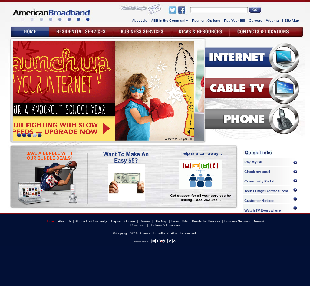 American Broadband Competitors, Revenue and Employees - Owler