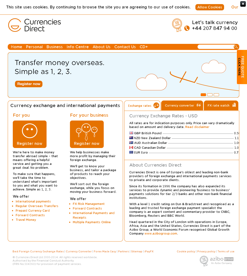 Currencies Direct Competitors, Revenue and Employees - Owler Company