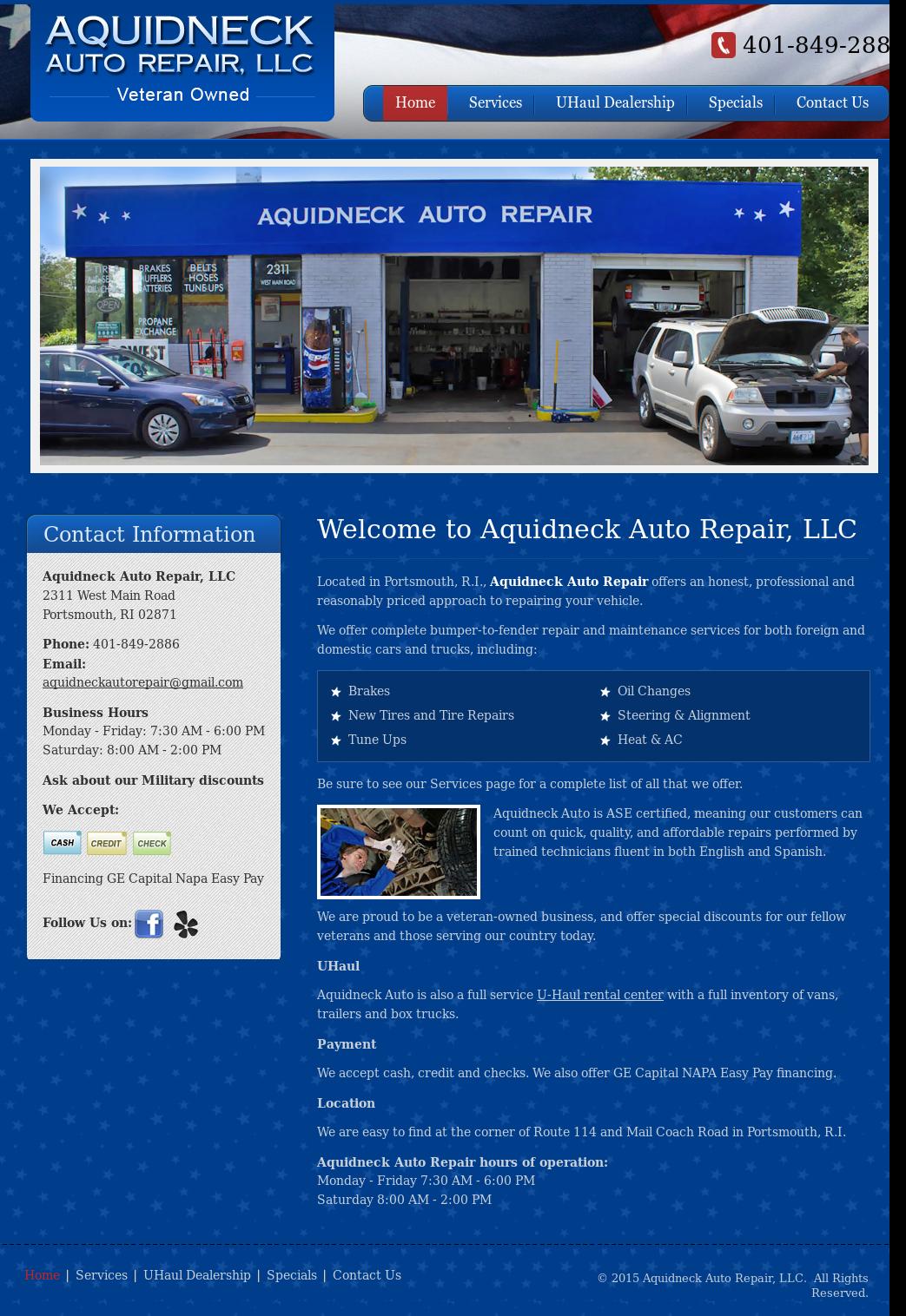 Aquidneck Auto Repair Competitors, Revenue and Employees