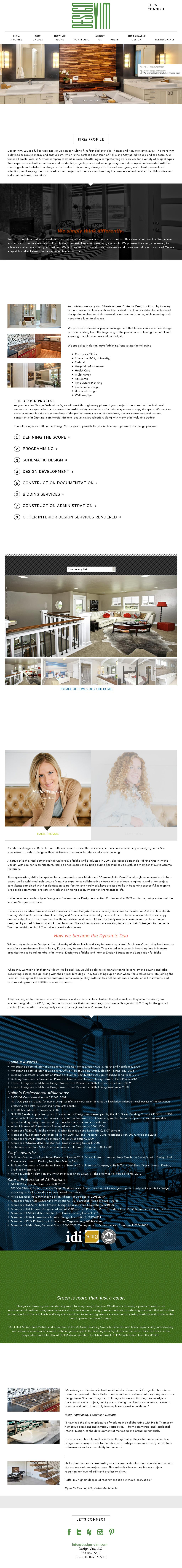 design vim interior design competitors revenue and employees