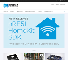 Owler Reports - Nordic Semiconductor Blog Get started on PC