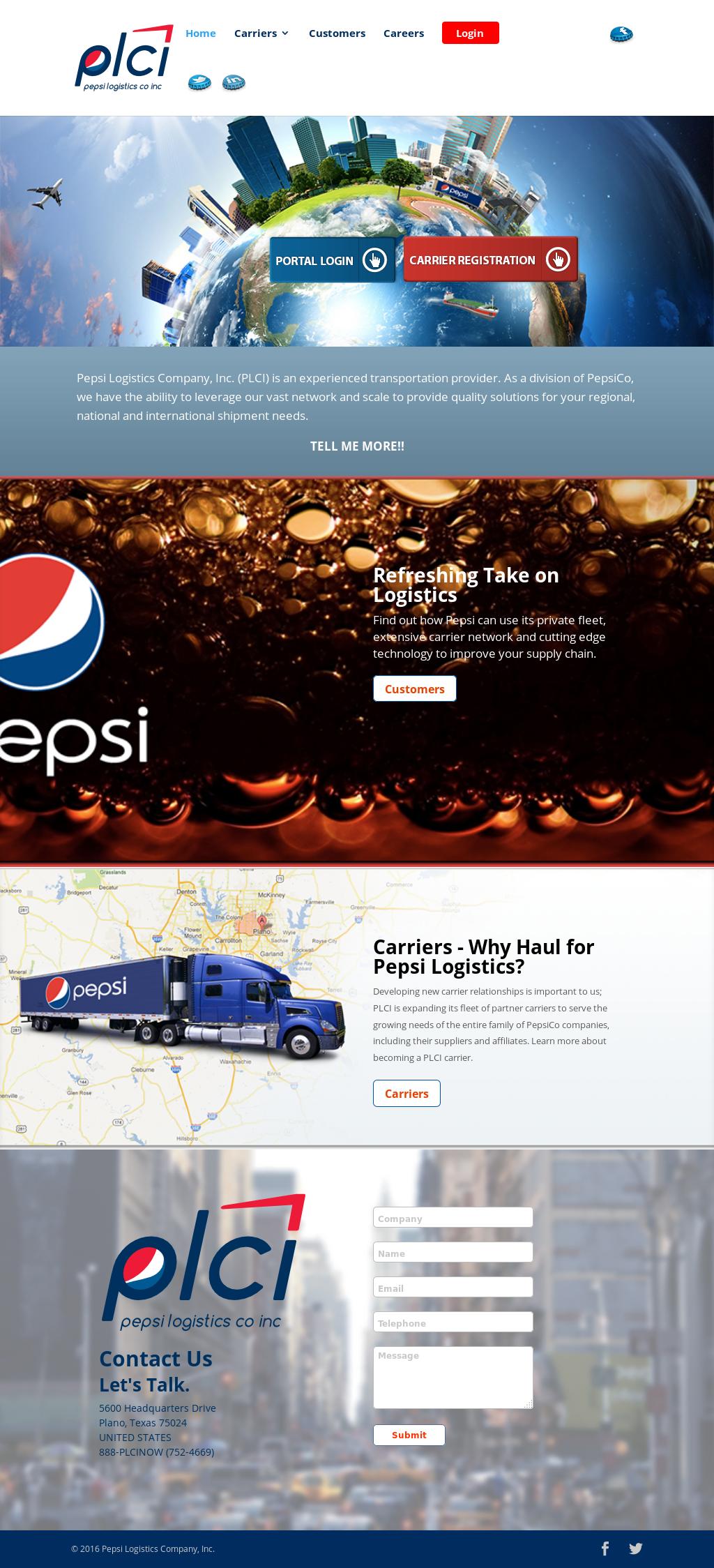 Pepsi Logistics Company Competitors, Revenue and Employees