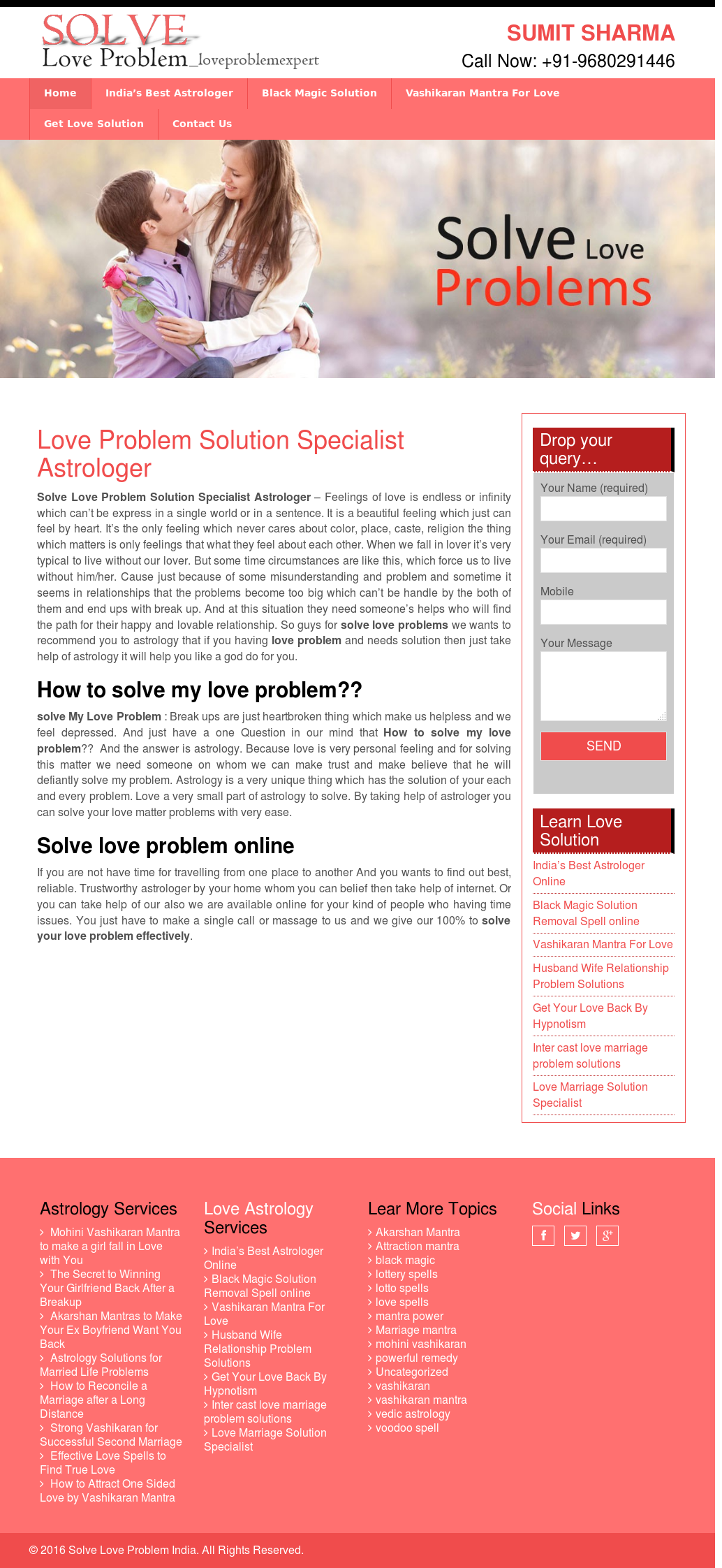 Solve Love Problem Competitors, Revenue and Employees