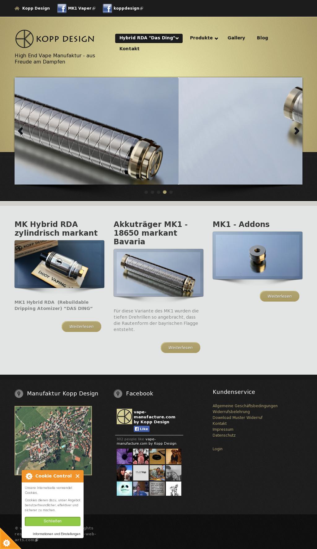 Vape-manufacture.com By Kopp Design Competitors, Revenue and ...