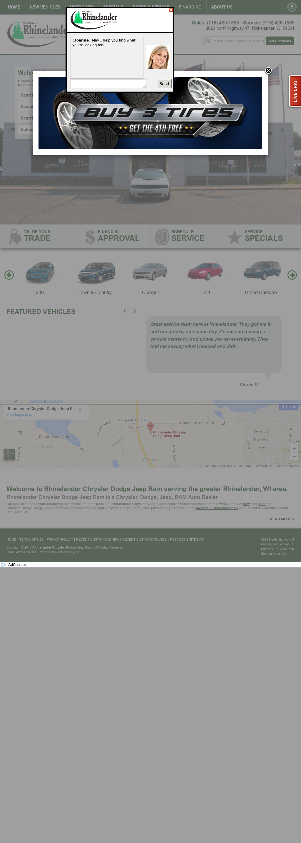 rhinelander chrysler dodge jeep ram competitors revenue and employees owler company profile owler