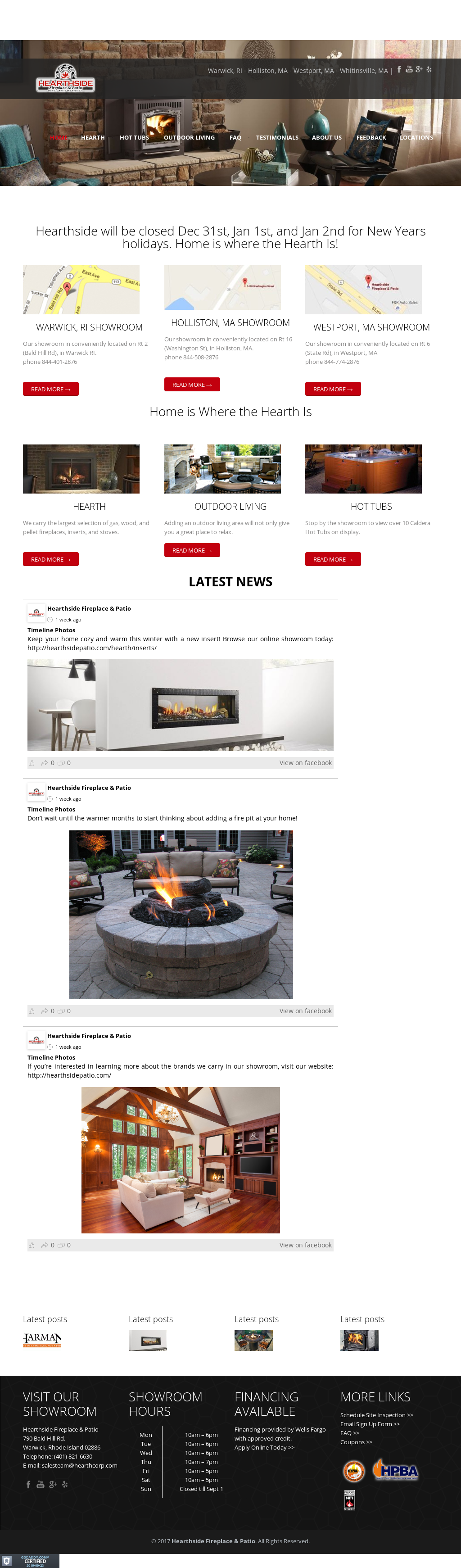 Hearthside Fireplace U0026 Patio Competitors, Revenue And Employees   Owler  Company Profile