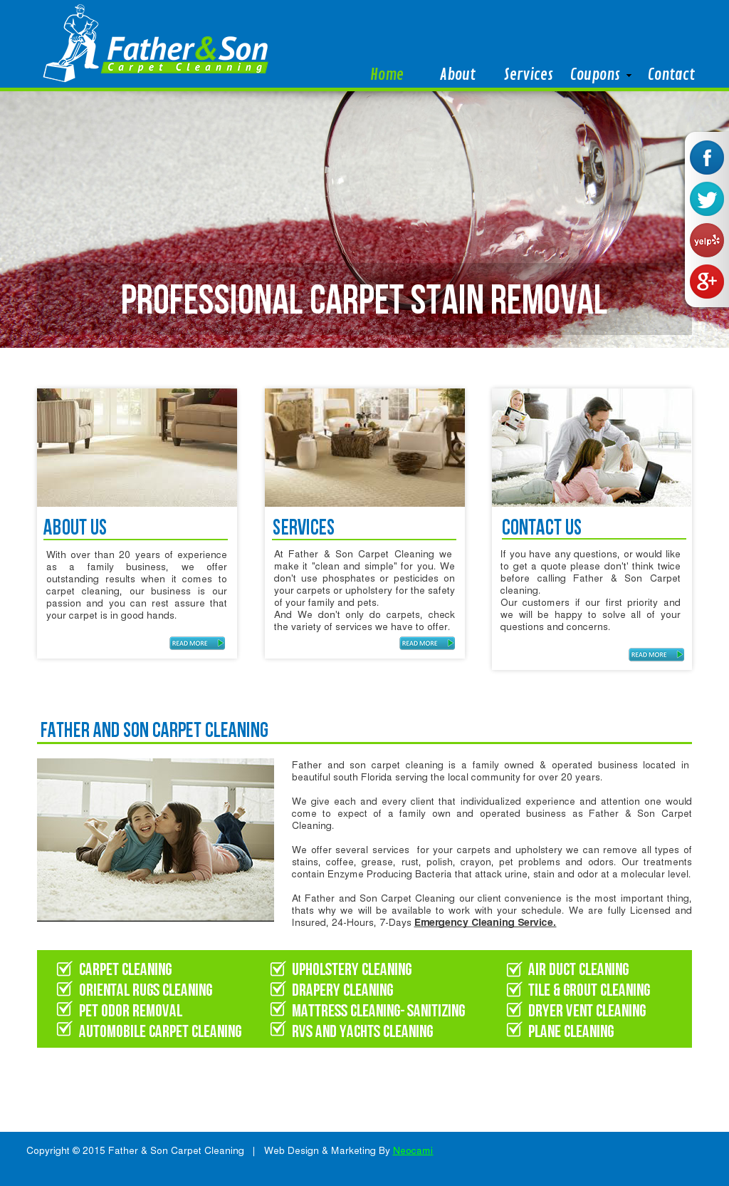 Adauros Father Son Carpet Cleaning Competitors Revenue And