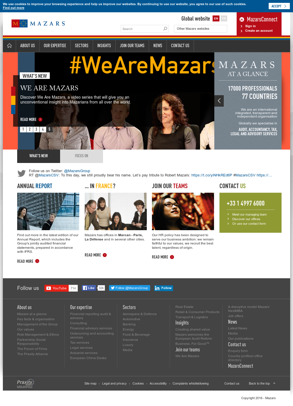 Mazars Competitors, Revenue and Employees - Owler Company