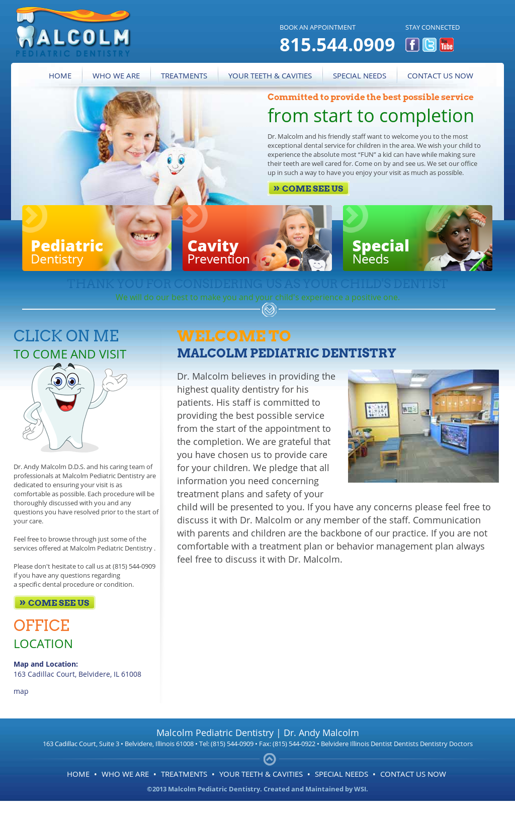 Malcolm Pediatric Dentistry Competitors, Revenue and Employees ...