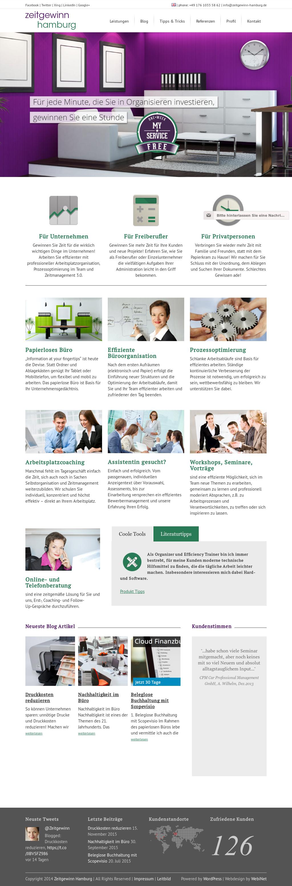 Zeitgewinn Hamburg Competitors, Revenue and Employees - Owler ...