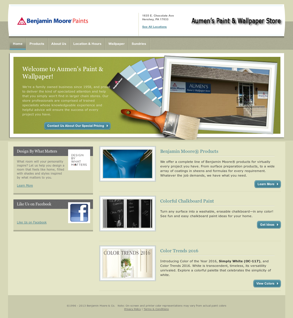 Aumens Paint And Wallpaper Store Competitors Revenue And