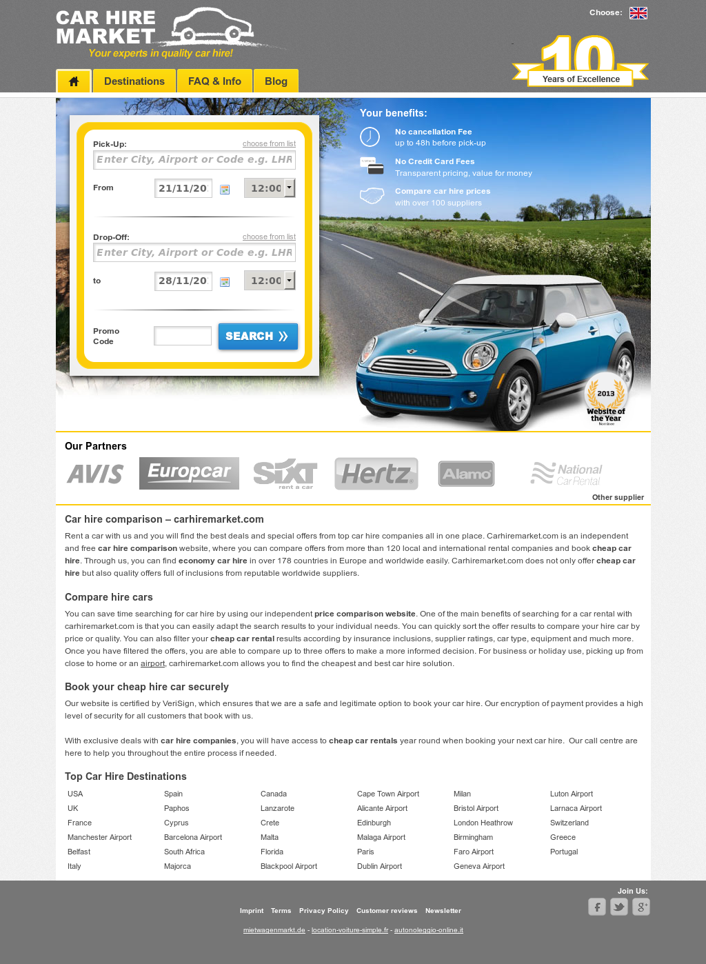 history about car rental companies marketing essay Enterprise carshare is an automated way to rent a vehicle by the hour, the day,  or overnight a variety of makes and models are parked in your community.
