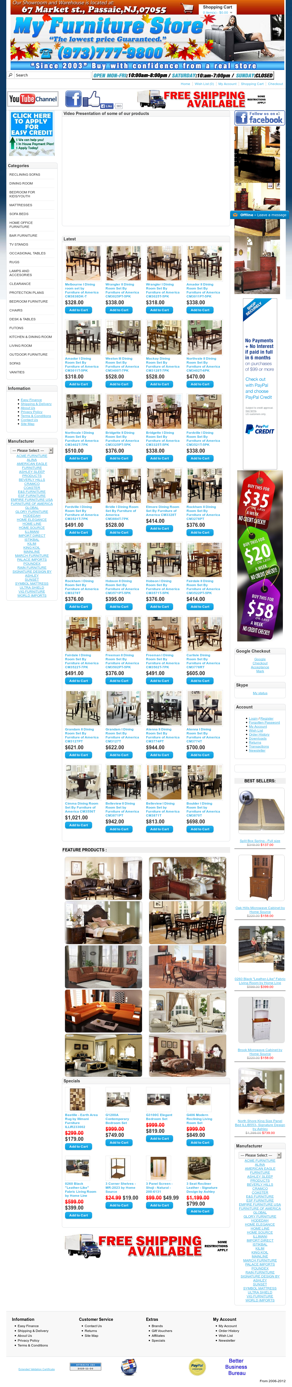 Myfurniturestore Competitors, Revenue and Employees - Owler Company