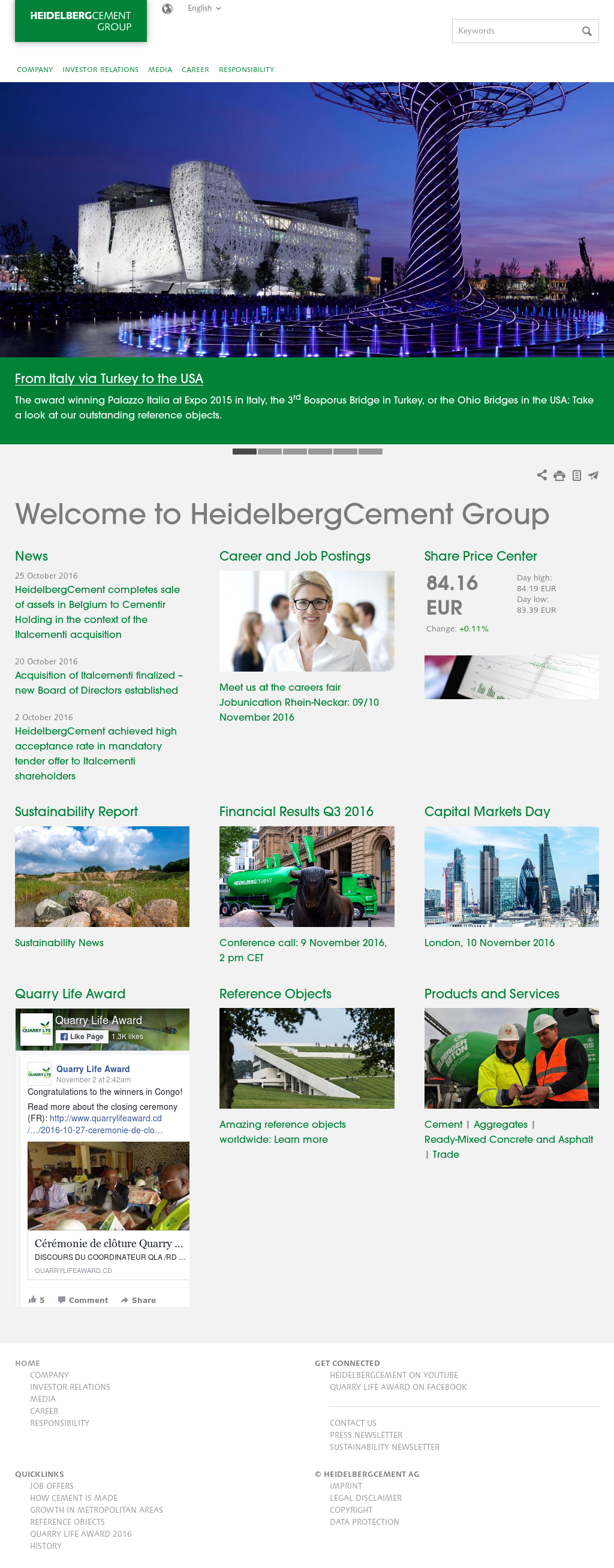 HeidelbergCement Competitors, Revenue and Employees - Owler