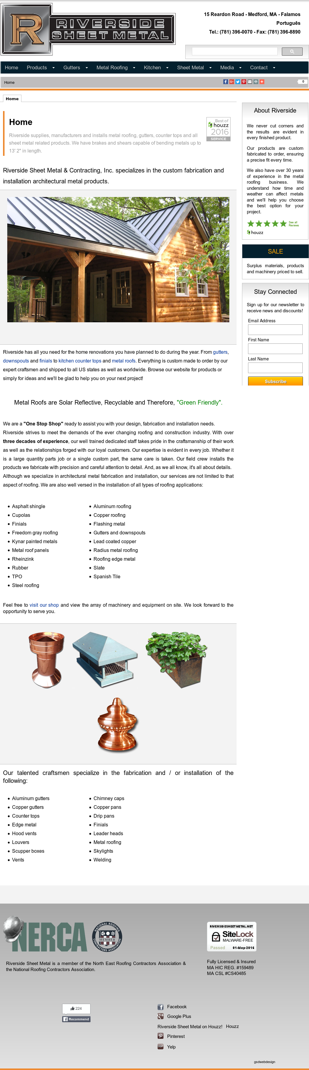 Riversidesheetmetal Competitors Revenue And Employees Owler