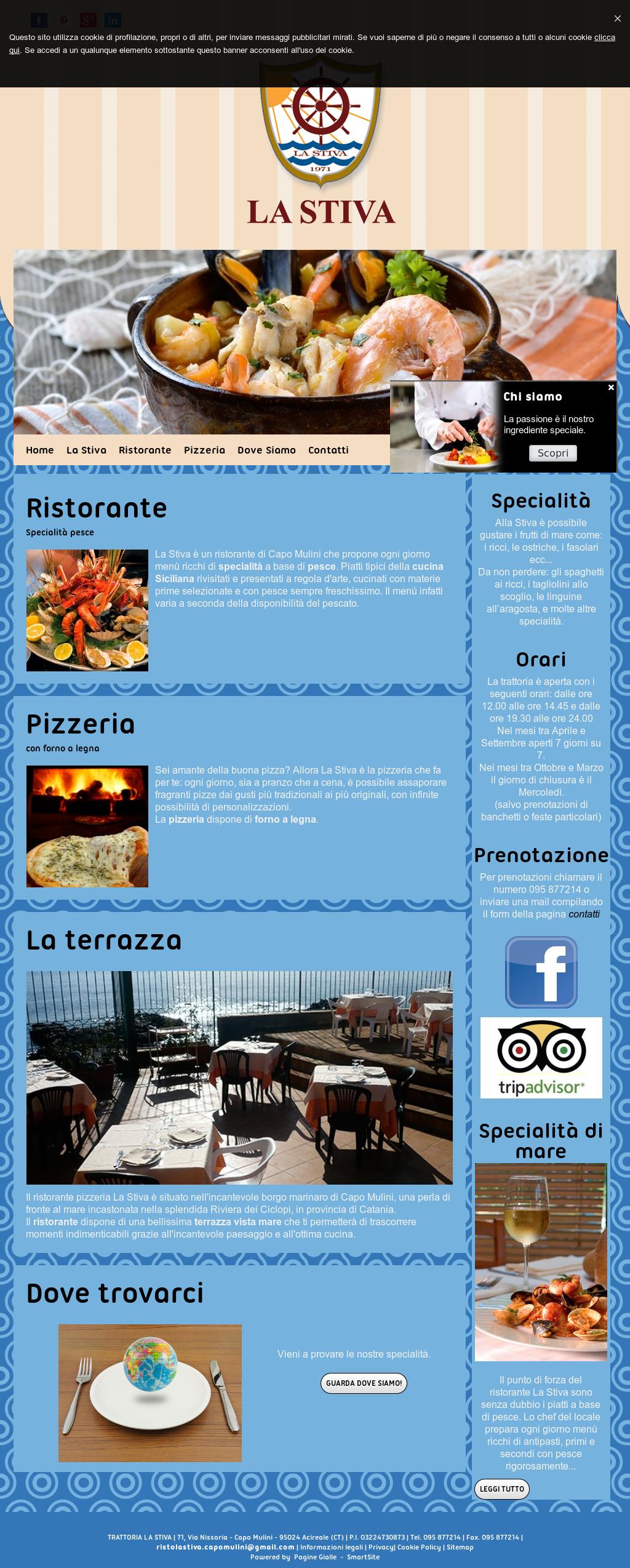 Ristorante Pizzeria La Stiva Capomulini Competitors