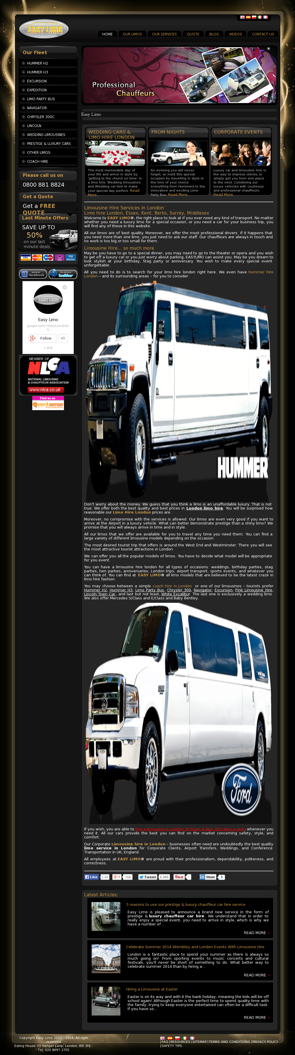 Easy Limo Competitors, Revenue and Employees - Owler Company
