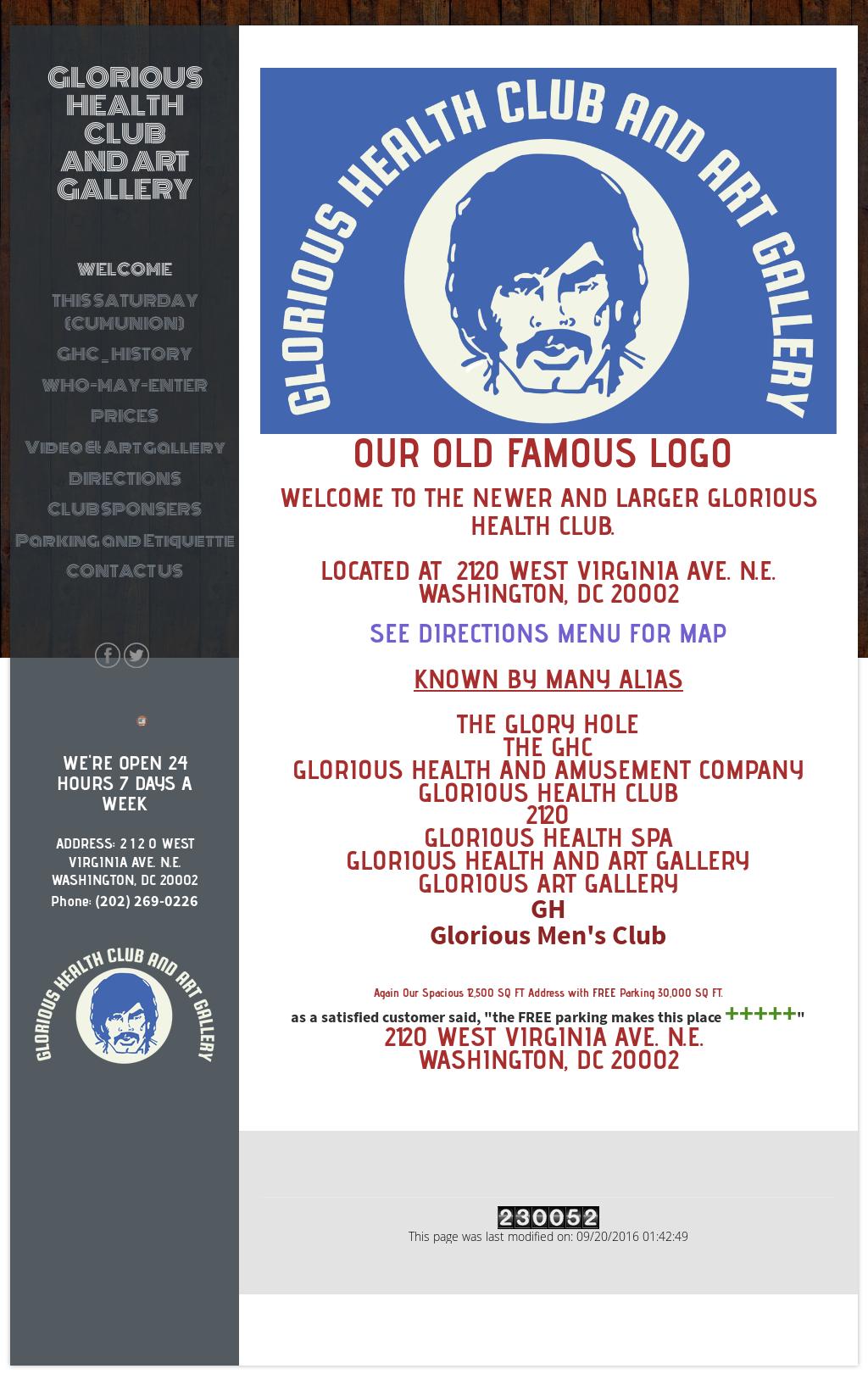 Glorious health club washington dc
