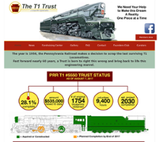 Pennsylvania Railroad T1 Steam Locomotive Trust Competitors