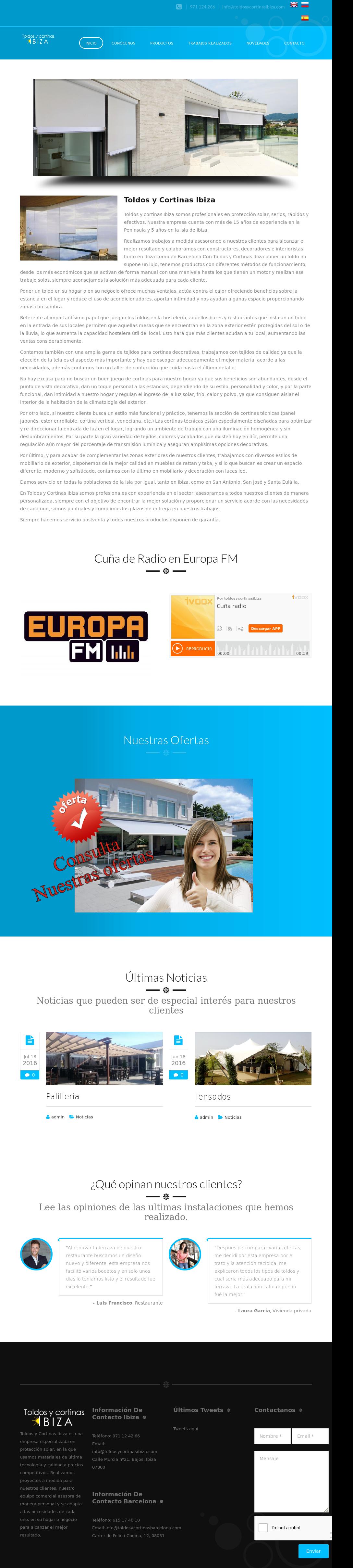 Toldos Y Cortinas Ibiza Competitors Revenue And Employees