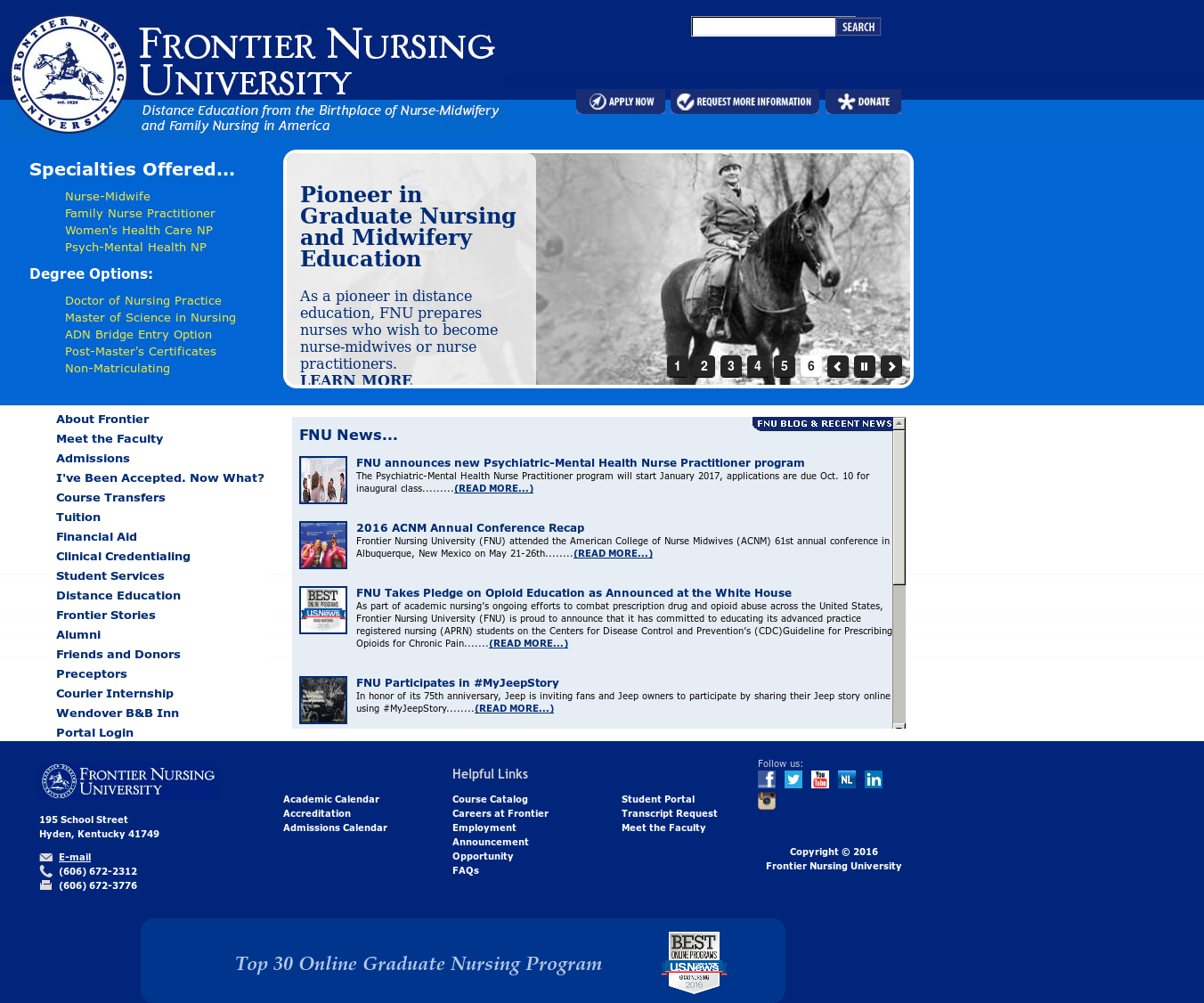 Frontier Nursing Service Competitors, Revenue and Employees - Owler