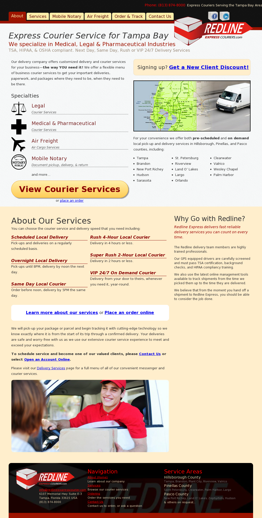 Redline Express Courier Competitors, Revenue and Employees - Owler