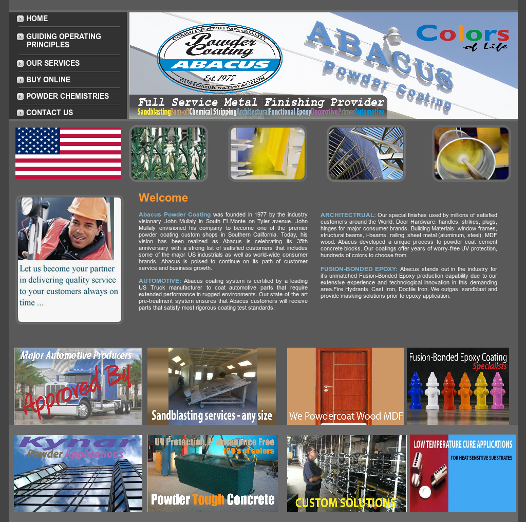Abacus Powder Coating Competitors, Revenue and Employees