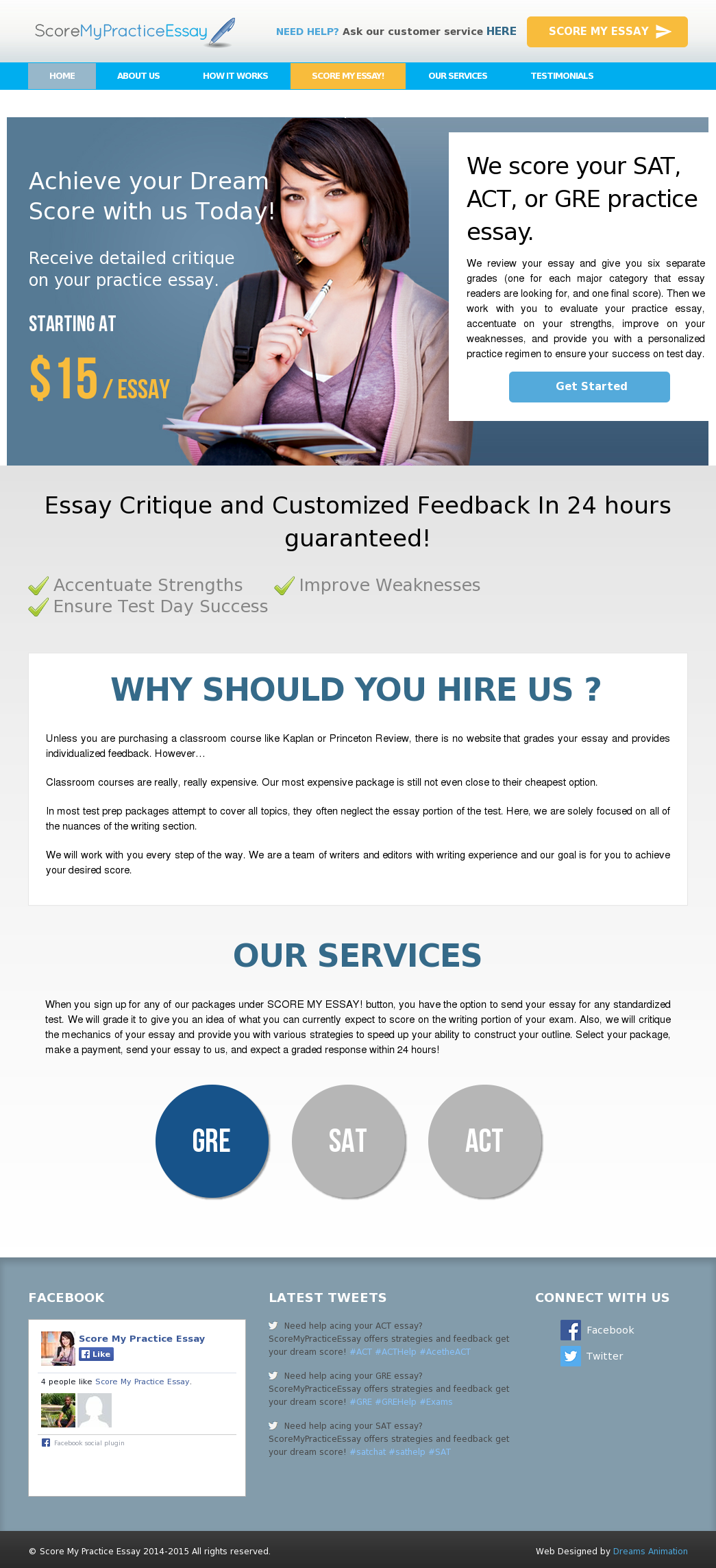 Score My Practice Essay Competitors Revenue And Employees  Owler  Website History Essay Mahatma Gandhi English also English Literature Essay Structure  Sample English Essay
