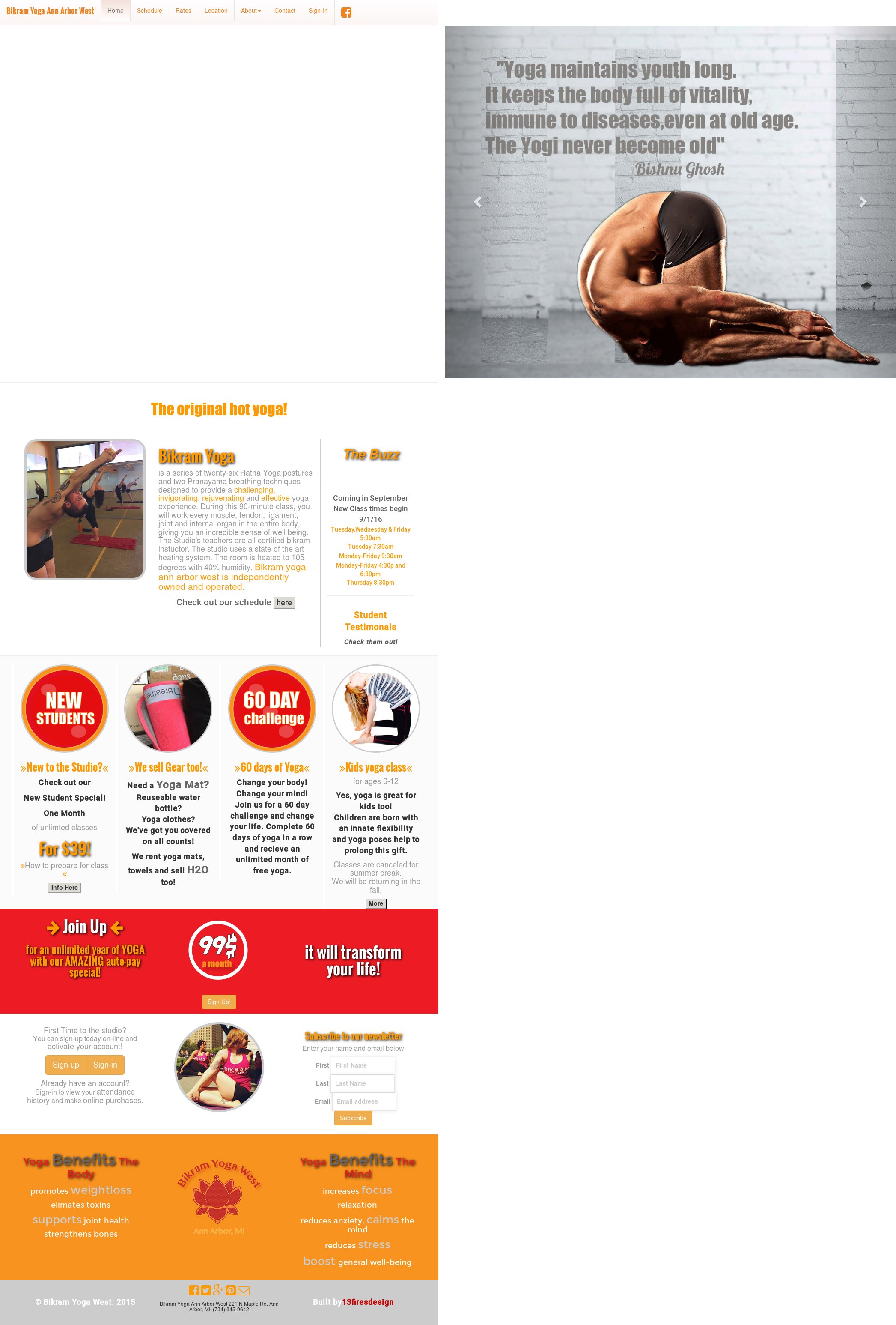 Bikram Yoga Ann Arbor West Competitors Revenue And Employees Owler Company Profile