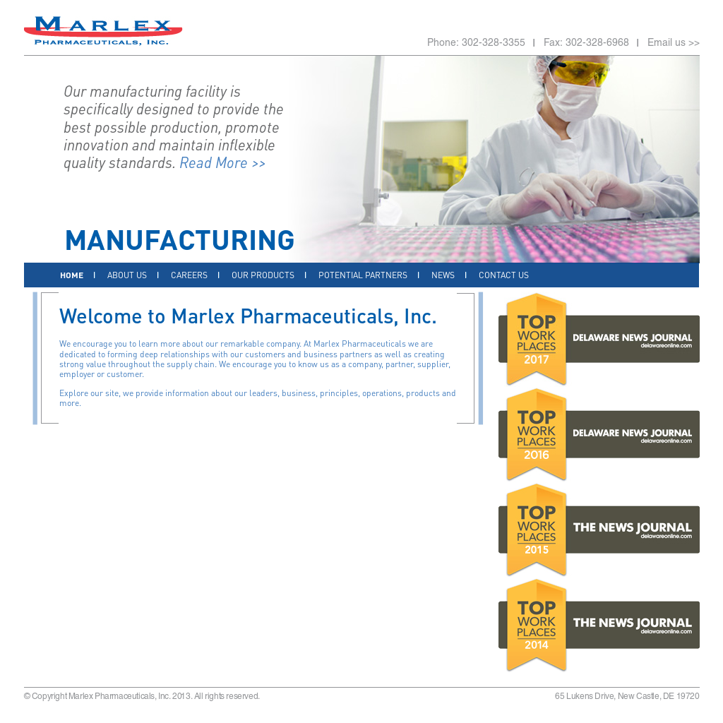 Marlex Pharmaceuticals Competitors, Revenue and Employees